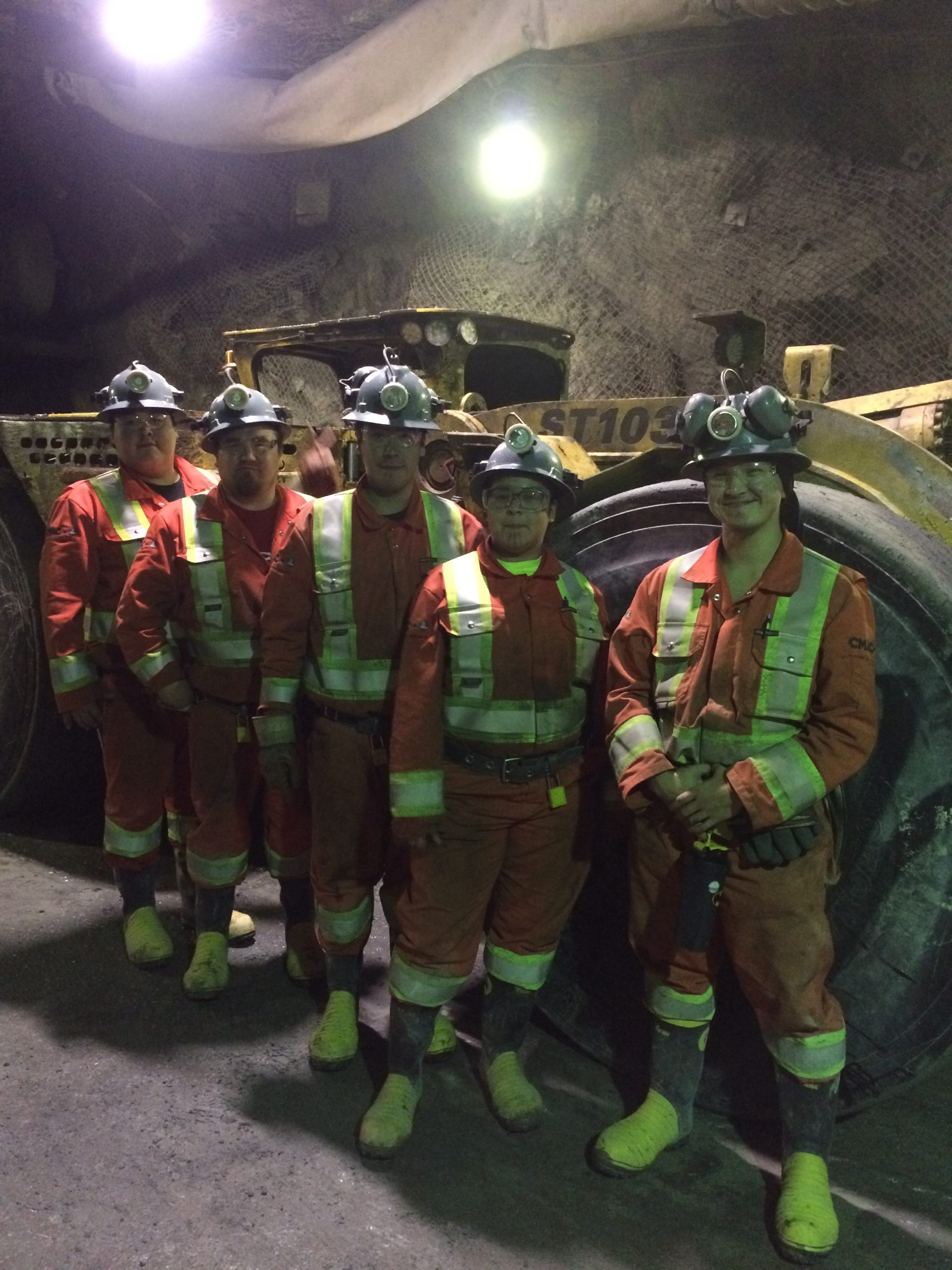 Long Hole Drillers Successfully Trained and Employed